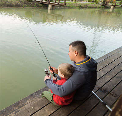 Tips for teaching children how to fish