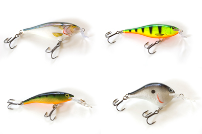 Common lure colours