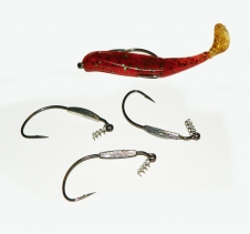 4 Pack Weedless Jig Head Hooks