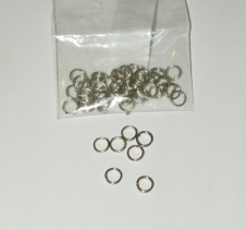 50 x 5mm Lure Split Rings
