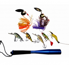 Ultimate Fishing Lure Package Perfect for all Freshwater Fishing Reels & Tackle Accessories