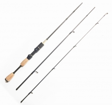 1.8m Ultralight Spin Fishing Rod Carbon Fibre Rod Ideal For Trout Redfin 0.8g to 10g Fishing Rods & Fishing Reels