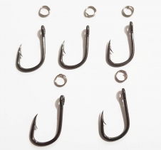 Hooks, Jig Heads, Sinkers & Swivels